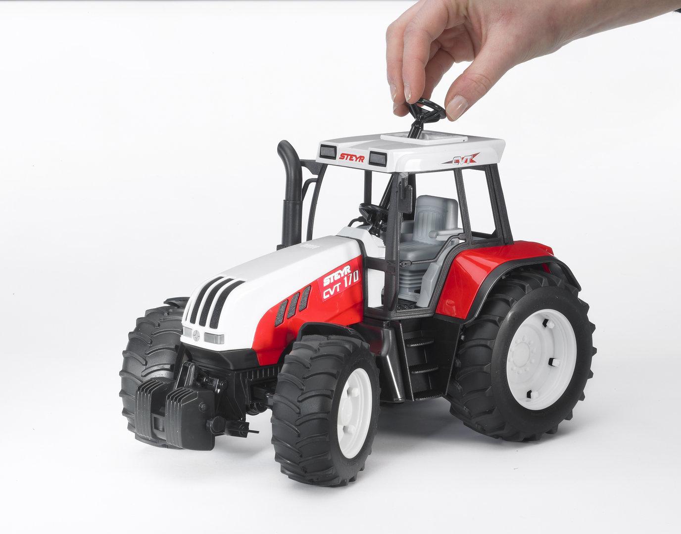 steyr cvt 170 bruder spielzeug traktor bruder steyr. Black Bedroom Furniture Sets. Home Design Ideas