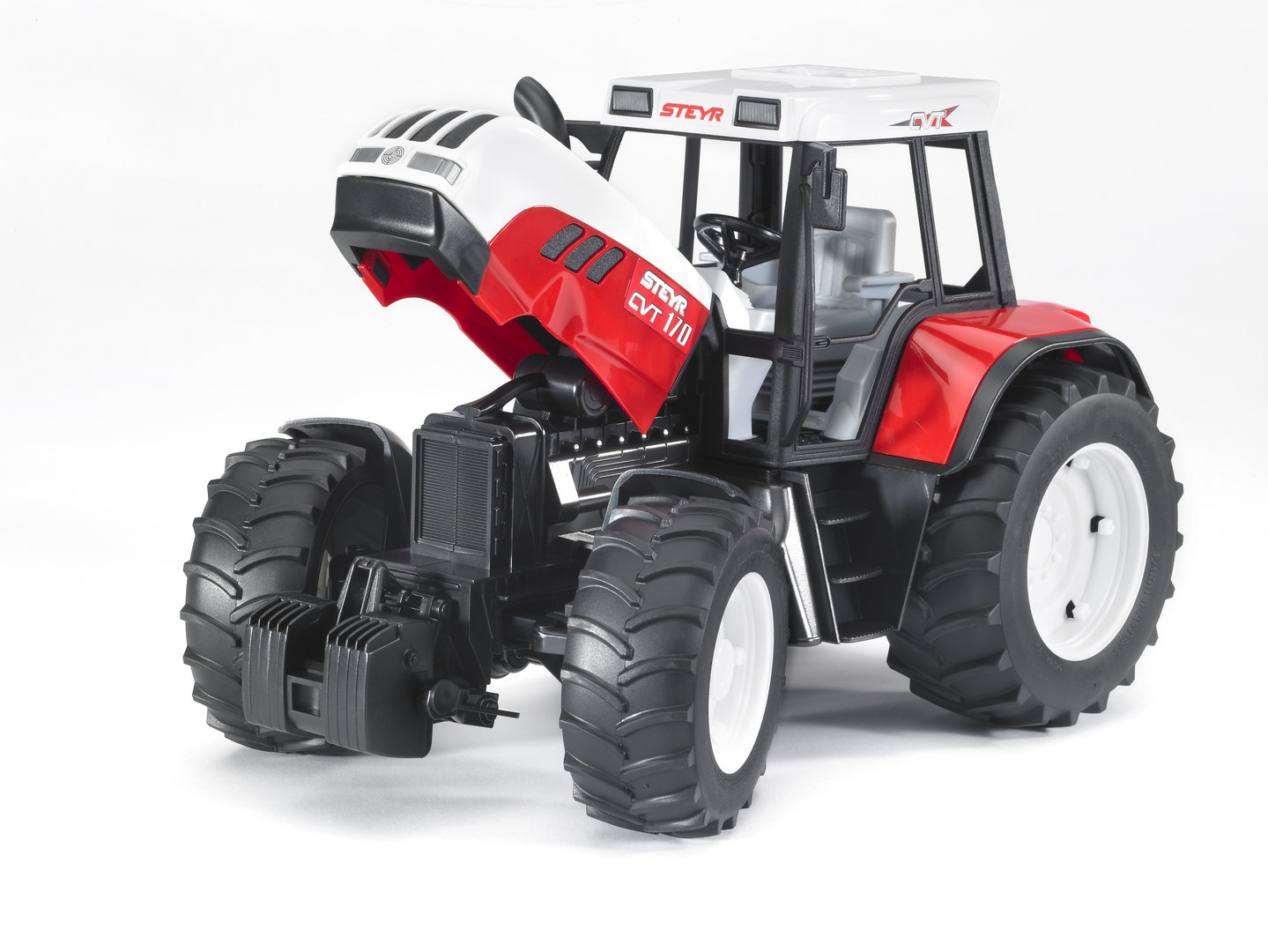 steyr cvt 170  bruder spielzeug traktorbruder steyr