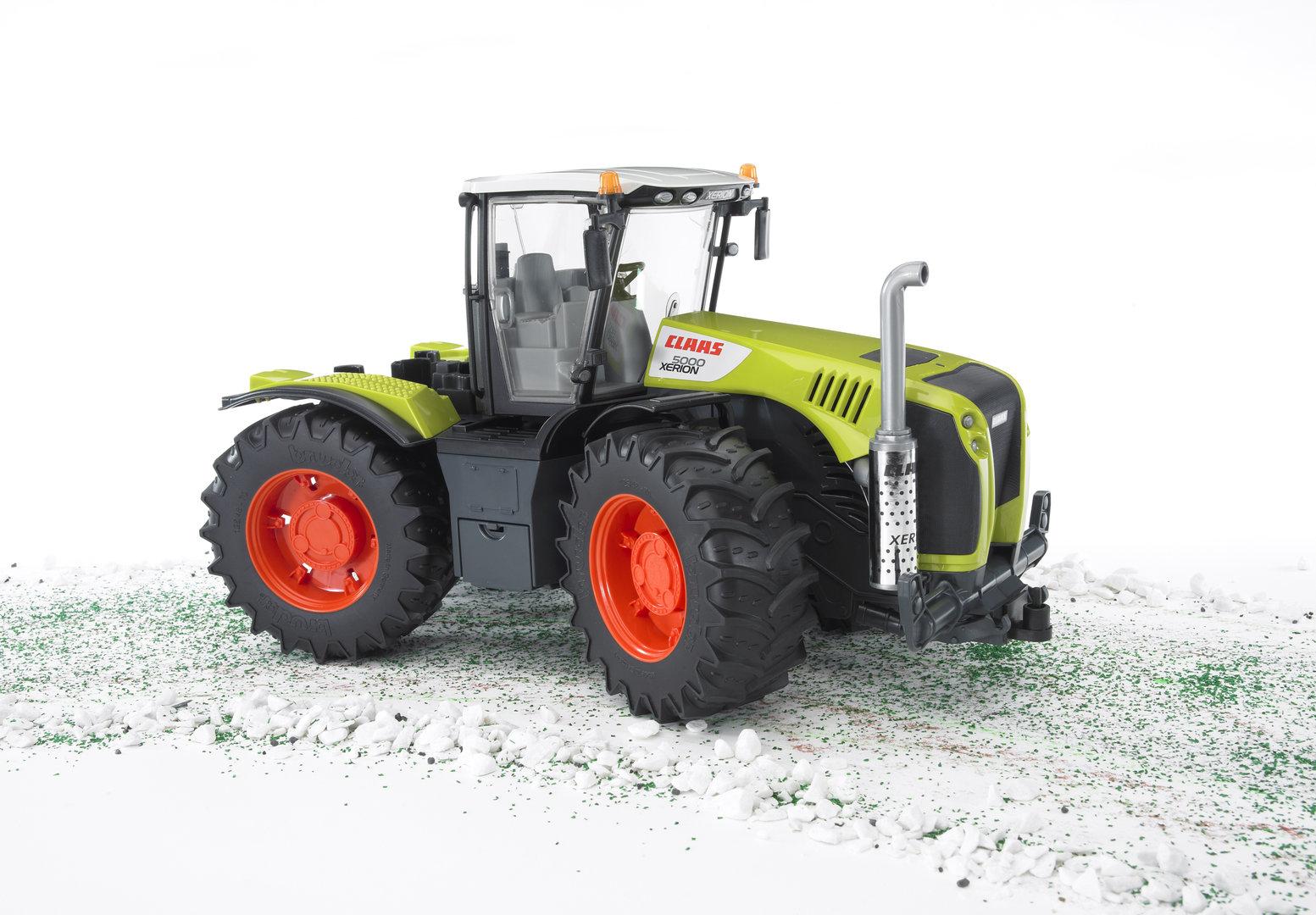 claas xerion 5000 - bruder traktoren, bruder claas, bruder