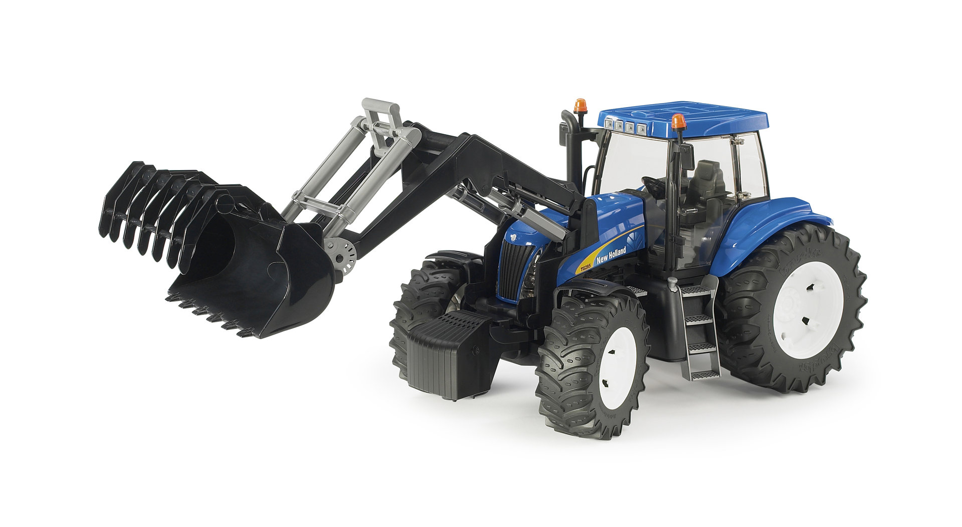 New holland t mit frontlader bruder holland bruder t