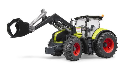 Claas Axion 950 mit Frontlader