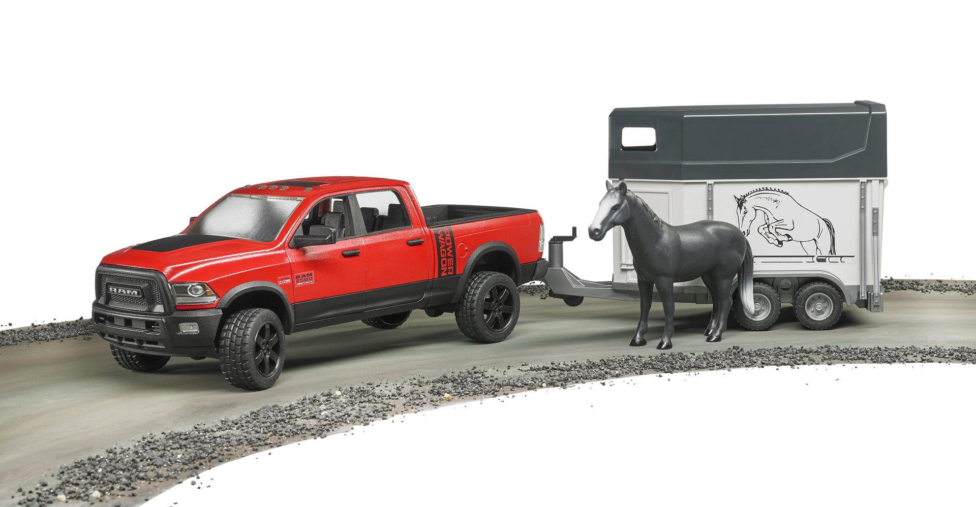 ram 2500 power wagon m pferdeanh nger bruder perde. Black Bedroom Furniture Sets. Home Design Ideas