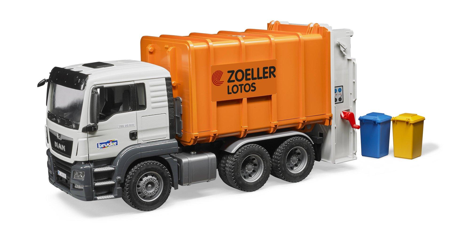 bruder container lkw