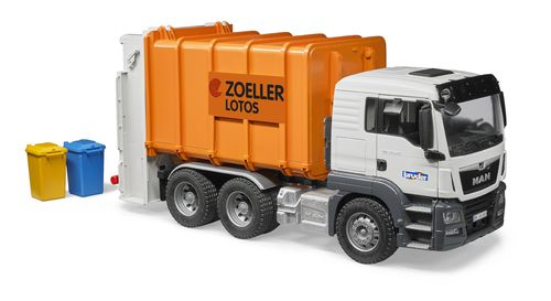 MAN TGS Hecklader Müll-LKW