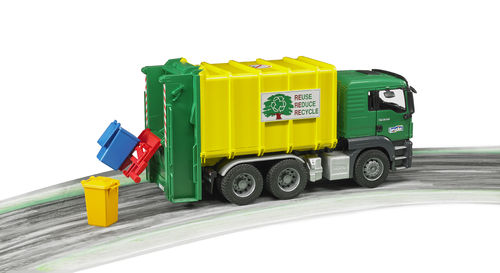 MAN TGS Müll-LKW Hecklader
