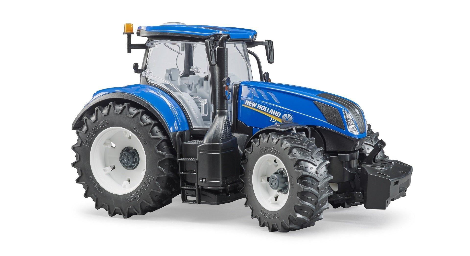 News bruder traktor new holland t big tractor