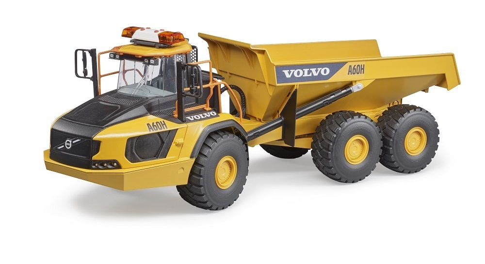 Volvo Dumper A60H - Bruder Volvo,Bruder Dumper,Bruder Baufahrzeug