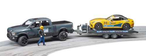 RAM Power Wagon & Roadster Bruder Racing Team