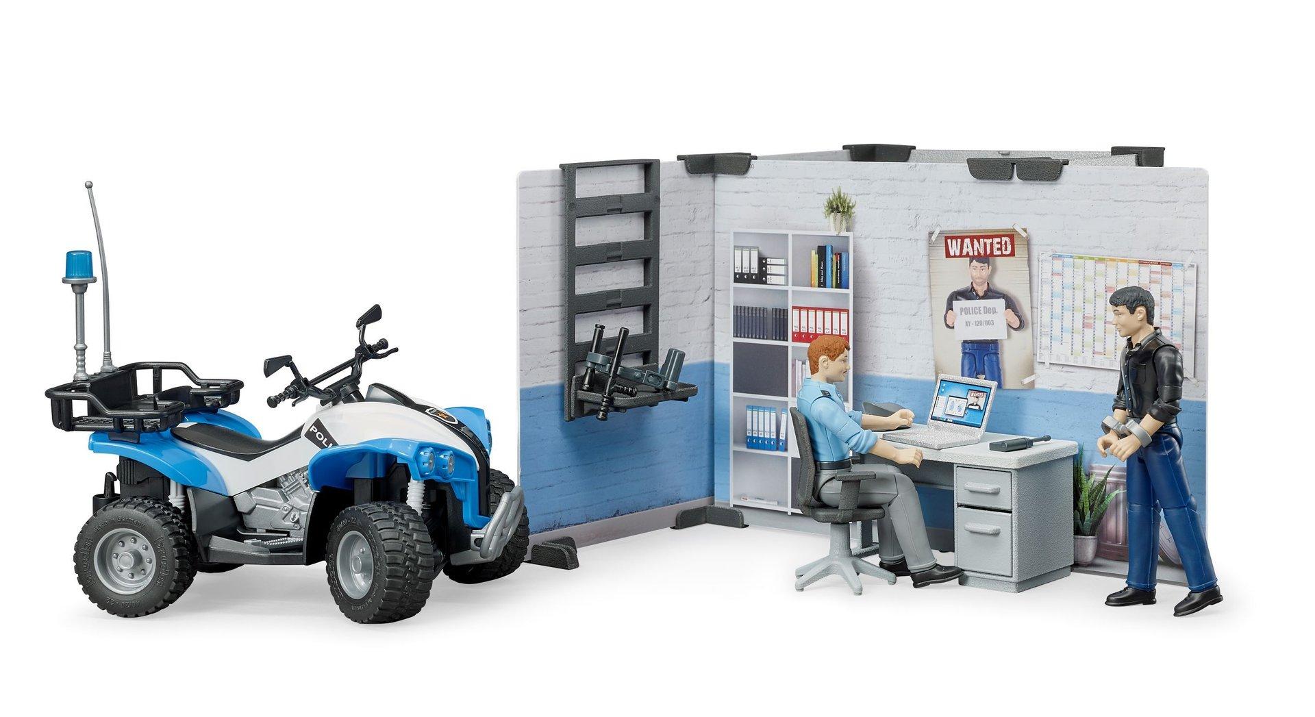 Kleinkindspielzeug Bruder bworld Polizeistation