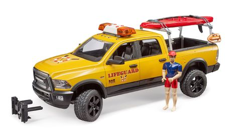 RAM 2500 Power Wagon Life Guard mit Figur